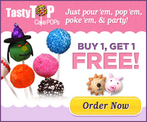 tasty top cake pops - buy 1 get 1 free